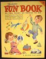 The Golden Fun Book Coloring & Activities 1953 Unused