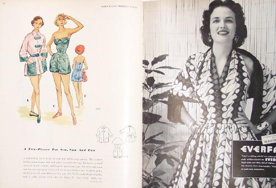Spring 1953 McCall's Pattern Book