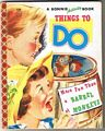 1955 Bonnie Activity Book Thing To Do
