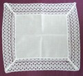 Loop Lace Edge White Hankie