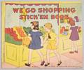 Vintage We Go Shopping Stick 'em Book Platt and Monk
