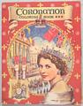 Coronation Coloring Book Saalfield 1953