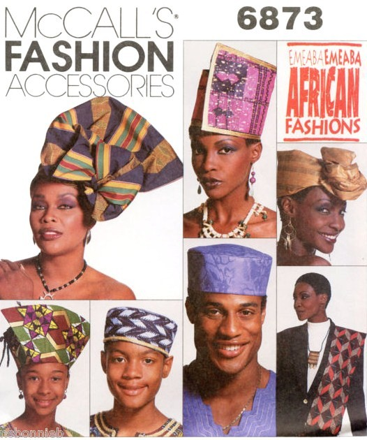 Mccall S 6873 Emeaba African Fashions Hats Pattern