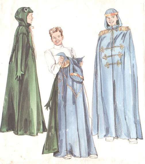 Devil/Angel, Frog/Prince Reversible Costume Pattern Adult, Teen ...