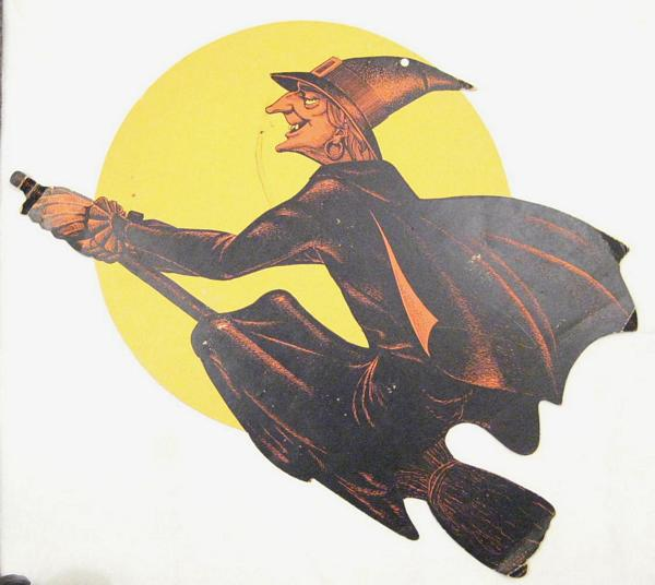 Halloween Flying Witch Decoration