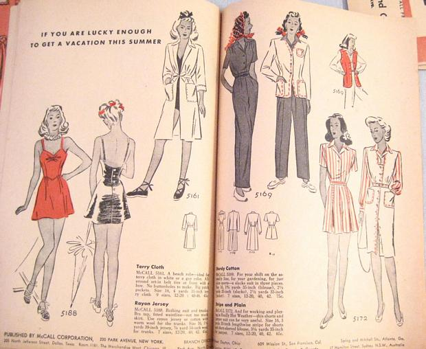 McCall Style News April 1943