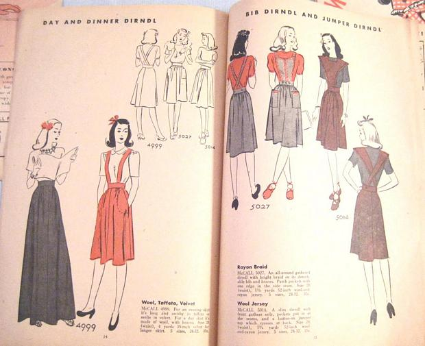 McCall Style News December 1942