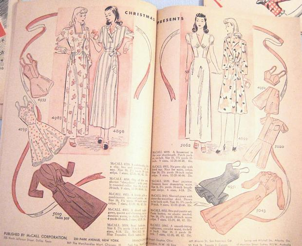 McCall Style News January 1943