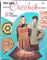 McCall's Crochet 58 Items 1970
