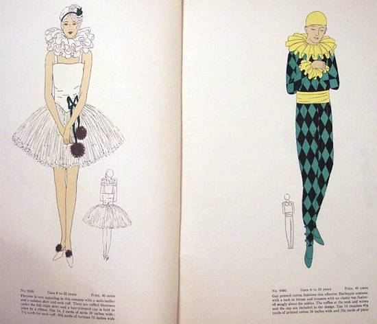 Vogue Book of Fancy Dress 1930 Costume Catalog