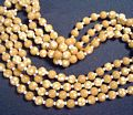 Vintage Sixties Castlecliff 4 Strand Polka Dot Necklace