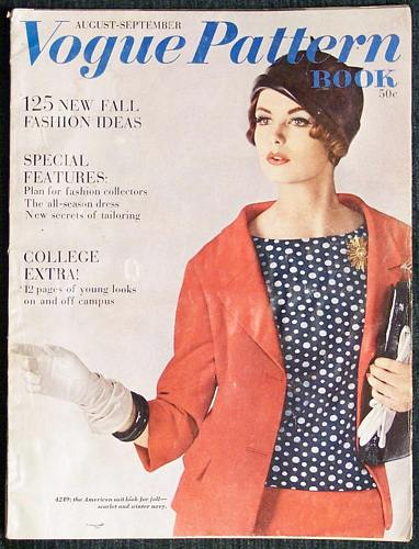 Vogue Pattern Book August September 1961 - Click Image to Close