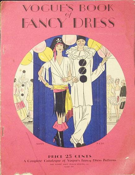 Vogue Book of Fancy Dress 1930 Vinatge Costume Catalog - Click Image to Close