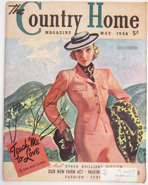 1938 May Country Home Magazine Woman In Spring Suit - Click Image to Close