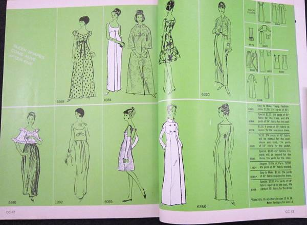 Vogue Pattern Book Dec/Jan 1965-1966