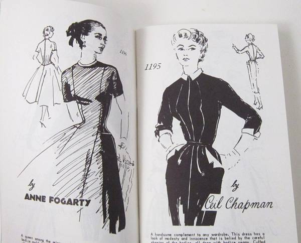 Spadea 1950's Booklet 12 - Amercan Designer Patterns