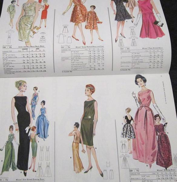 Butterick 1963 Spring Home Pattern Catalog