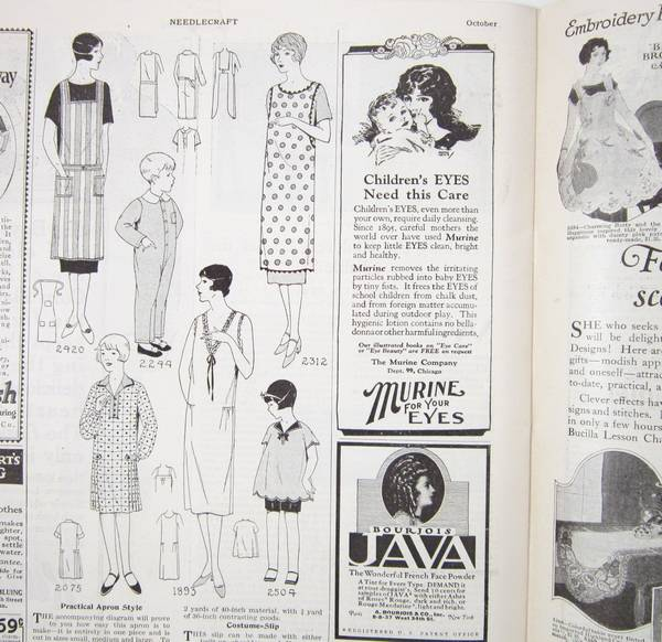 1925 October Needlecraft Magazine