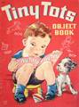 1944 Vintage Tiny Tots Object Book Whitman 908