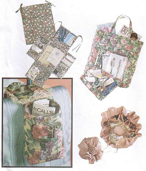 McCall's Sewing Accessories Organizers Pattern