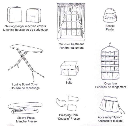 McCall's Home Essentials Sewing Room Pattern
