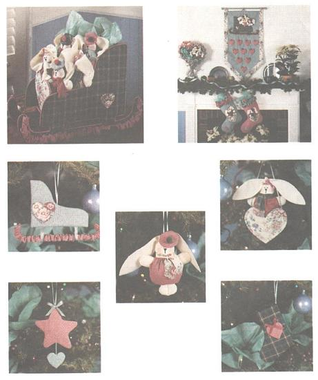 McCall's 4954 Heart and Sole Christmas Pattern