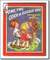 One, Two, Cock-A-Doodle-Doo 1950 Elf Book