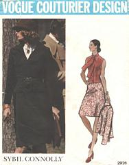 Sybil Connolly Vogue Couturier Pattern 2926 Bust 36