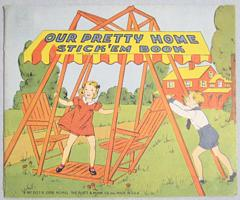 Our Pretty Home Stick 'Em Book 1940 Platt and Monk