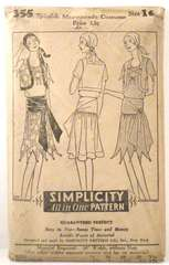 Vintage 1920's Spanish Masquerade Costume Pattern 355