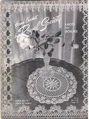 Hand Crochet by Royal Society Laces and Doilies Book No. 3
