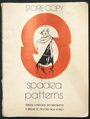 Vintage Spadea Patterns 1977 Store Counter Catalog