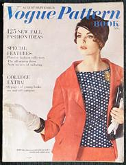 Vogue Pattern Book August September 1961