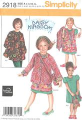 Simplicity 2918 Childs and Misses Daisy Kingdom Pattern