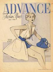 Advance Fashion News June 1950