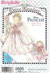 Simplicity 7198 Daisy Kingdom Girls and Doll Dress Pattern 5-8