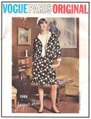 Jacques Heim Vogue 1588 Paris Dress and Jacket Pattern