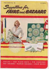 1953 Star Book No. 8 Suggestions for Fairs and Bazaars