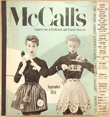 1954 McCall's Patterns Counter Catalog