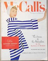 July 1956 McCall's Magazine with Grace Kelly Ad