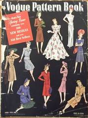 Vogue Pattern Book Catalog 1941 WW II Era