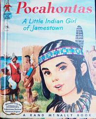 Pocahontas Rand McNally Tip Top Elf Book 1957