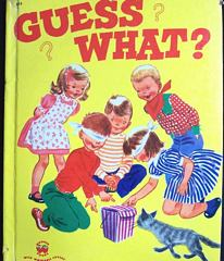 Guess What? Wonder Book 1953