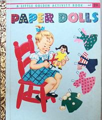 Paper Dolls A Little Golden Activity Book 1951