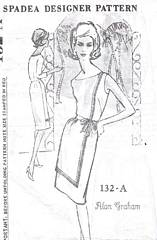 Alan Graham Spadea Front Paneled Dress Pattern Bust 38
