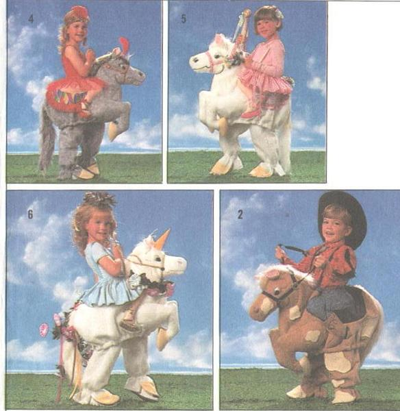 Horse Costume Pattern Adults Childs Horse Costume Pattern