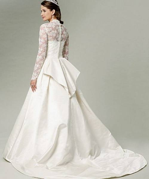 Butterick BP249/5731 Kate Style Wedding Gown Pattern 6-14