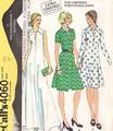 Pounds Thinner 70's McCalls 4060 Dresses Pattern Bust 37