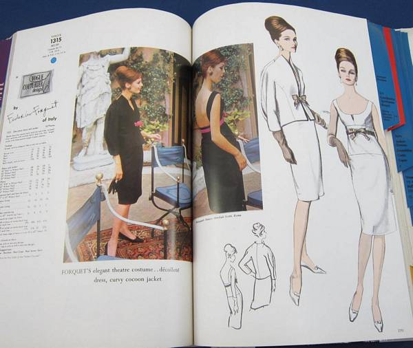 Vogue 1967 August Large Hard Bound Store Counter Pattern Catalog