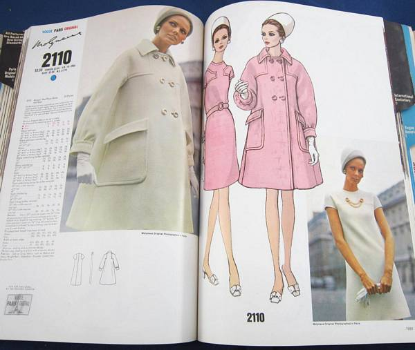 Vogue 1970 August Store Counter Pattern Catalog